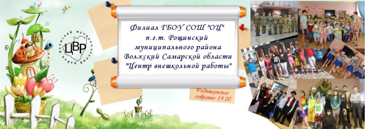 Центр внешкольной работы Волжского района